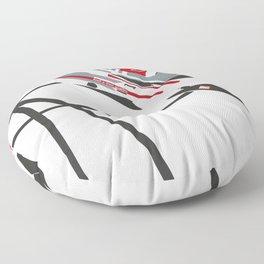 etron Le Mans Floor Pillow