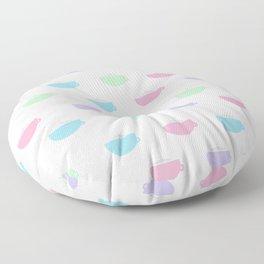 Coffee Time Pastel Version Floor Pillow