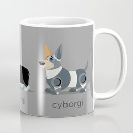 corgi, siborgi, and cybogi Coffee Mug