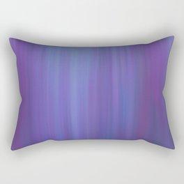 Violet Chromatic Rectangular Pillow