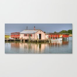 Bay Crabbers Shanty Canvas Print