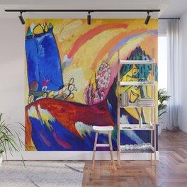 Wassily Kandinsky Troika Wall Mural