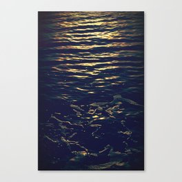 Sun on the Water Canvas Print