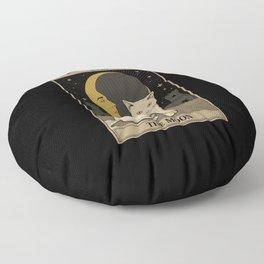 The Moon Floor Pillow