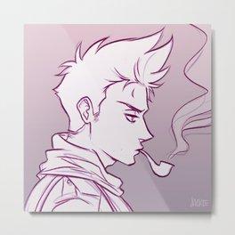 APH: Smoke Metal Print