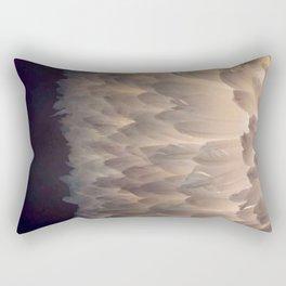 Soft light through the feathers Rectangular Pillow