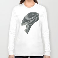 xenomorph Long Sleeve T-shirts featuring Resist Xenomorph by CliftJinkens