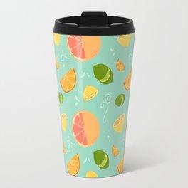 Les Agrumes (Citrus) Pattern Travel Mug