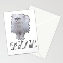 This Stray Cat Looks Like Grandma - Meme Stationery Cards