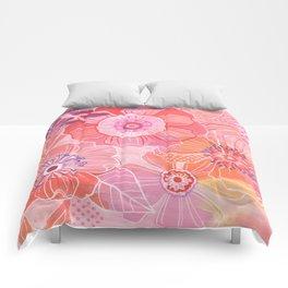 Hooray Pink! Comforters