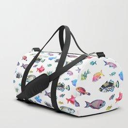 Painted Fish Duffle Bag