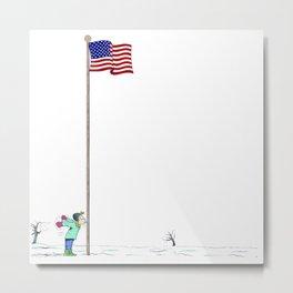 Pole Metal Print