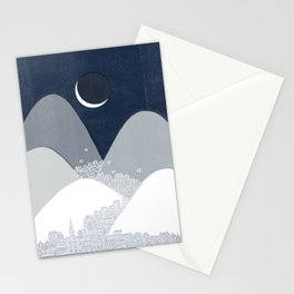 Bleak Midwinter Stationery Cards