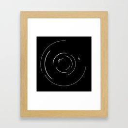 Orbital Mechanics by Diagraf and Ewerx Framed Art Print