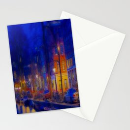 CITY CANAL Stationery Cards