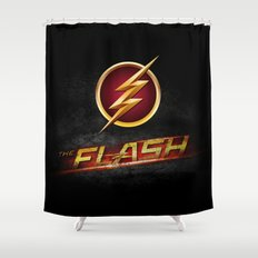 The Flash Inside Shower Curtain