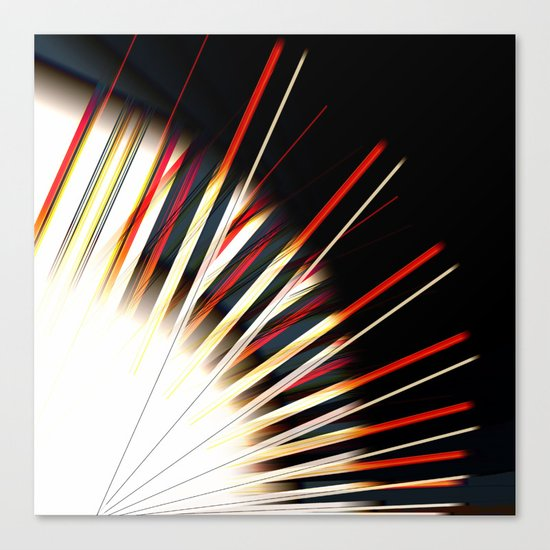 Lines/EX Canvas Print