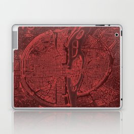 Vintage Paris Red Laptop & iPad Skin