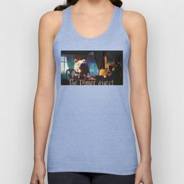The Dinner Guest or The Bear who came to Dinner Unisex Tank Top
