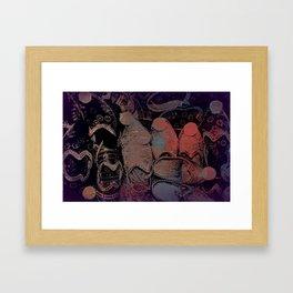 Ottoman Footprints  Framed Art Print