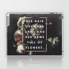 Arms Full Of Flowers Laptop & iPad Skin