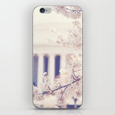 Cherry Blossoms at the Jefferson Memorial Washington DC iPhone & iPod Skin