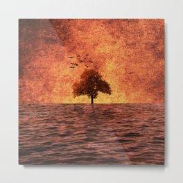 The sea of fire Metal Print