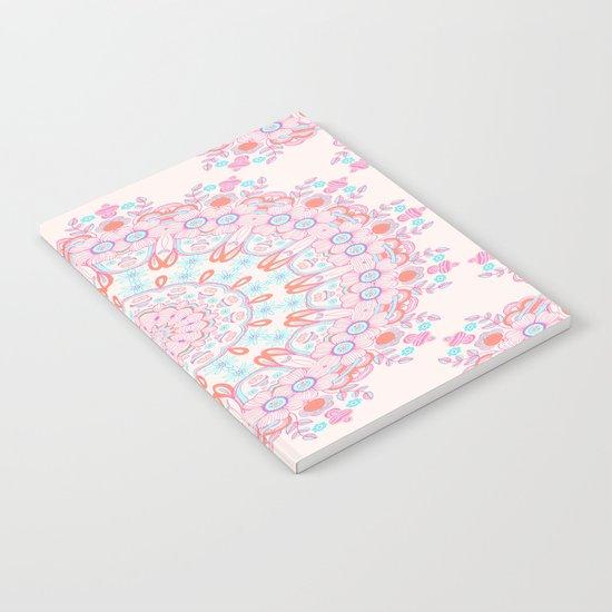 Spring Rain Mandala Notebook