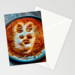 Bunny Cortado in the Afternoon Stationery Cards
