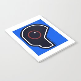 Futuristic Cyborg Logo 2 Notebook
