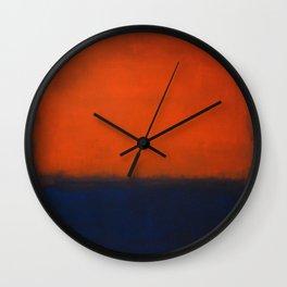 No. 14 - Mark Rothko Wall Clock