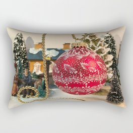 Christmas ornament 1 Rectangular Pillow