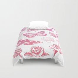 Flower Print  Duvet Cover