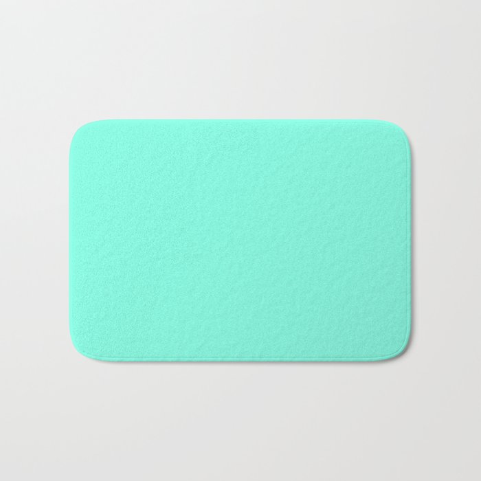 Green Mint Bath Mat