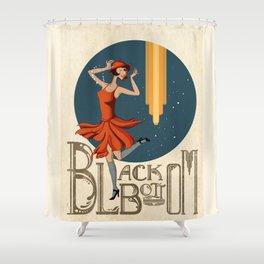 Blackbottom Shower Curtain