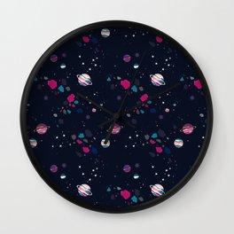 Gem Galaxy Wall Clock