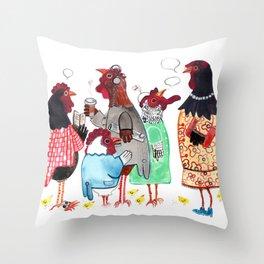 PTA Meeting Throw Pillow