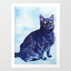 Spot the Cat Art Print