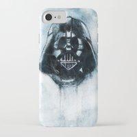 dark side iPhone & iPod Cases featuring Dark Side by ErDavid