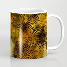 Copper Spiral Abstract Coffee Mug