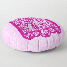 Mexican Paper Floor Pillow