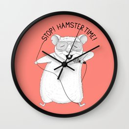 Hamster singing MC Hammer | Animal Karaoke | Red Wall Clock