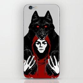red ridin' hood iPhone Skin