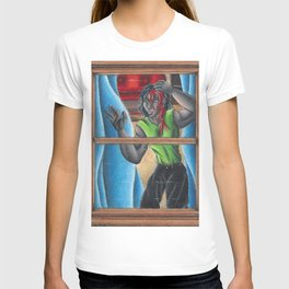Looking out T-shirt