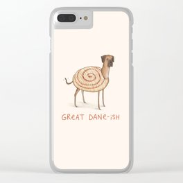 Great Dane-ish Clear iPhone Case