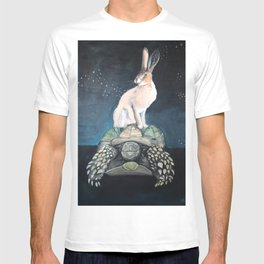 Midnight Tortoise and Hare T-shirt