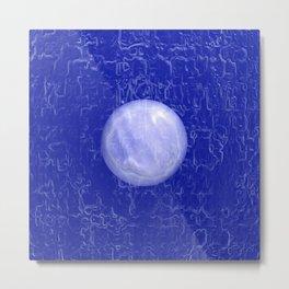 Pearl on the Water Metal Print