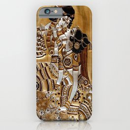 Indian God Radha Krishna iPhone Case
