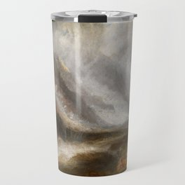 William Turner - Valley of Aosta, Snowstorm, Avalanche and Thunderstorm Travel Mug
