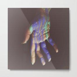 Gimme A Hand Metal Print